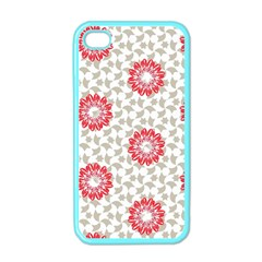 Stamping Pattern Fashion Background Apple iPhone 4 Case (Color)