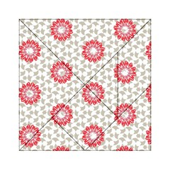 Stamping Pattern Fashion Background Acrylic Tangram Puzzle (6  x 6 )