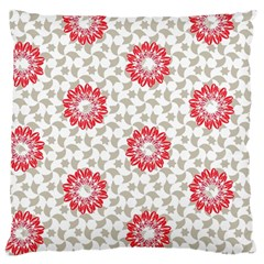 Stamping Pattern Fashion Background Large Cushion Case (Two Sides)