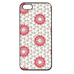 Stamping Pattern Fashion Background Apple iPhone 5 Seamless Case (Black)