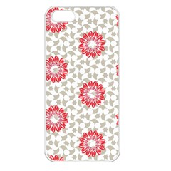 Stamping Pattern Fashion Background Apple iPhone 5 Seamless Case (White)