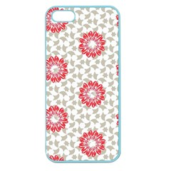 Stamping Pattern Fashion Background Apple Seamless Iphone 5 Case (color)