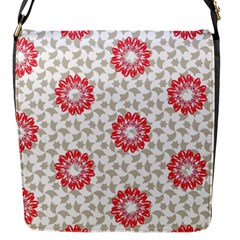 Stamping Pattern Fashion Background Flap Messenger Bag (S)