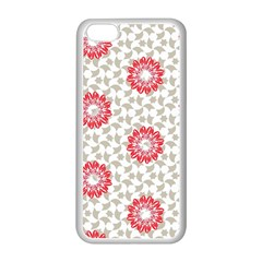 Stamping Pattern Fashion Background Apple Iphone 5c Seamless Case (white)