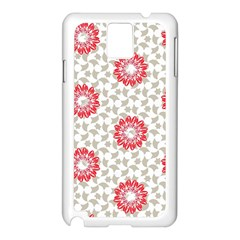 Stamping Pattern Fashion Background Samsung Galaxy Note 3 N9005 Case (white)
