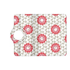 Stamping Pattern Fashion Background Kindle Fire Hd (2013) Flip 360 Case