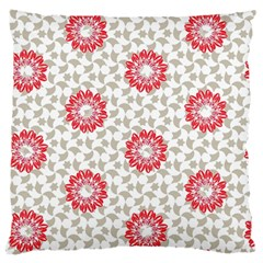 Stamping Pattern Fashion Background Large Flano Cushion Case (two Sides)