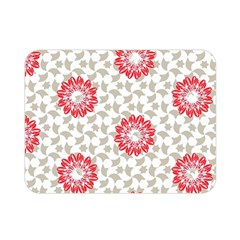 Stamping Pattern Fashion Background Double Sided Flano Blanket (Mini)
