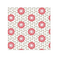 Stamping Pattern Fashion Background Small Satin Scarf (Square)