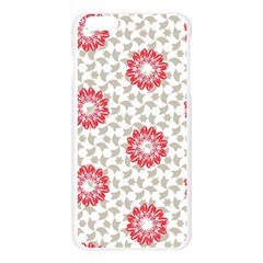 Stamping Pattern Fashion Background Apple Seamless iPhone 6 Plus/6S Plus Case (Transparent)
