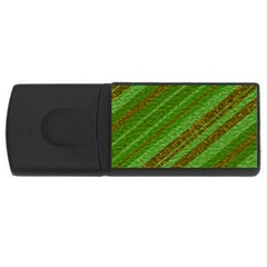 Stripes Course Texture Background USB Flash Drive Rectangular (1 GB)