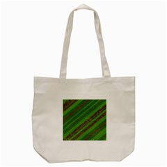 Stripes Course Texture Background Tote Bag (Cream)