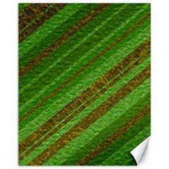 Stripes Course Texture Background Canvas 11  x 14