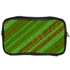 Stripes Course Texture Background Toiletries Bags 2-Side