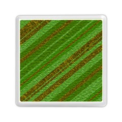 Stripes Course Texture Background Memory Card Reader (Square)