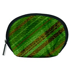 Stripes Course Texture Background Accessory Pouches (medium)