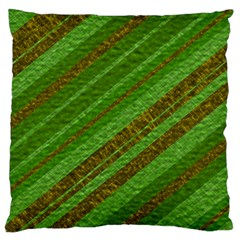 Stripes Course Texture Background Standard Flano Cushion Case (One Side)