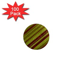 Stripes Course Texture Background 1  Mini Magnets (100 Pack)