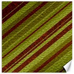 Stripes Course Texture Background Canvas 12  x 12