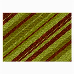 Stripes Course Texture Background Large Glasses Cloth (2-Side)