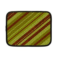Stripes Course Texture Background Netbook Case (small)