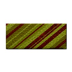 Stripes Course Texture Background Cosmetic Storage Cases