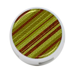 Stripes Course Texture Background 4-Port USB Hub (One Side)