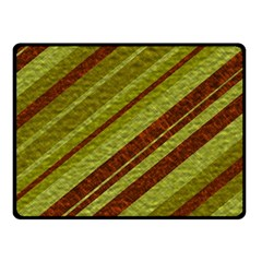 Stripes Course Texture Background Fleece Blanket (Small)