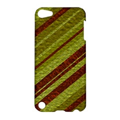 Stripes Course Texture Background Apple iPod Touch 5 Hardshell Case