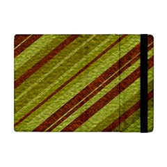 Stripes Course Texture Background Apple Ipad Mini Flip Case