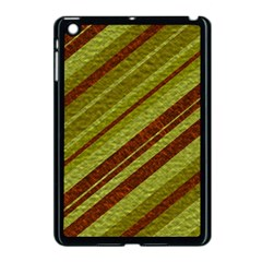 Stripes Course Texture Background Apple Ipad Mini Case (black)