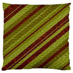 Stripes Course Texture Background Large Flano Cushion Case (two Sides)