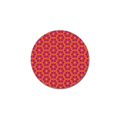 Pattern Abstract Floral Bright Golf Ball Marker (4 Pack)