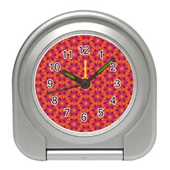 Pattern Abstract Floral Bright Travel Alarm Clocks