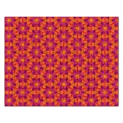 Pattern Abstract Floral Bright Rectangular Jigsaw Puzzl
