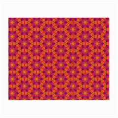 Pattern Abstract Floral Bright Small Glasses Cloth