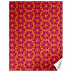 Pattern Abstract Floral Bright Canvas 18  x 24