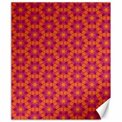 Pattern Abstract Floral Bright Canvas 20  X 24