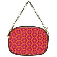 Pattern Abstract Floral Bright Chain Purses (One Side)