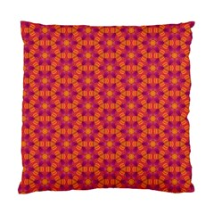 Pattern Abstract Floral Bright Standard Cushion Case (Two Sides)