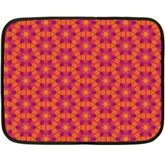 Pattern Abstract Floral Bright Fleece Blanket (mini)