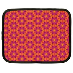 Pattern Abstract Floral Bright Netbook Case (XXL)