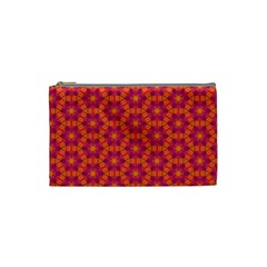 Pattern Abstract Floral Bright Cosmetic Bag (Small)