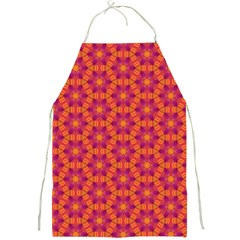 Pattern Abstract Floral Bright Full Print Aprons