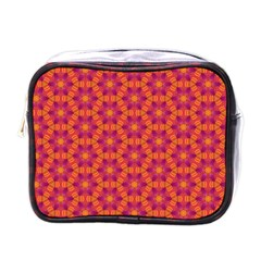 Pattern Abstract Floral Bright Mini Toiletries Bags