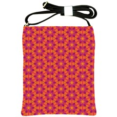 Pattern Abstract Floral Bright Shoulder Sling Bags