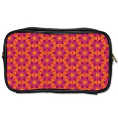 Pattern Abstract Floral Bright Toiletries Bags 2-Side