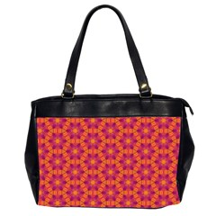 Pattern Abstract Floral Bright Office Handbags (2 Sides)