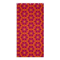 Pattern Abstract Floral Bright Shower Curtain 36  X 72  (stall)