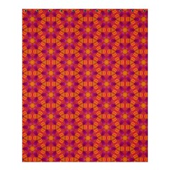 Pattern Abstract Floral Bright Shower Curtain 60  x 72  (Medium)